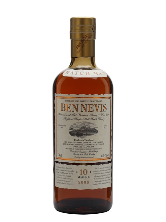 Ben Nevis 10 Year Old Cask Strength / Batch No.1 Highland Whisky