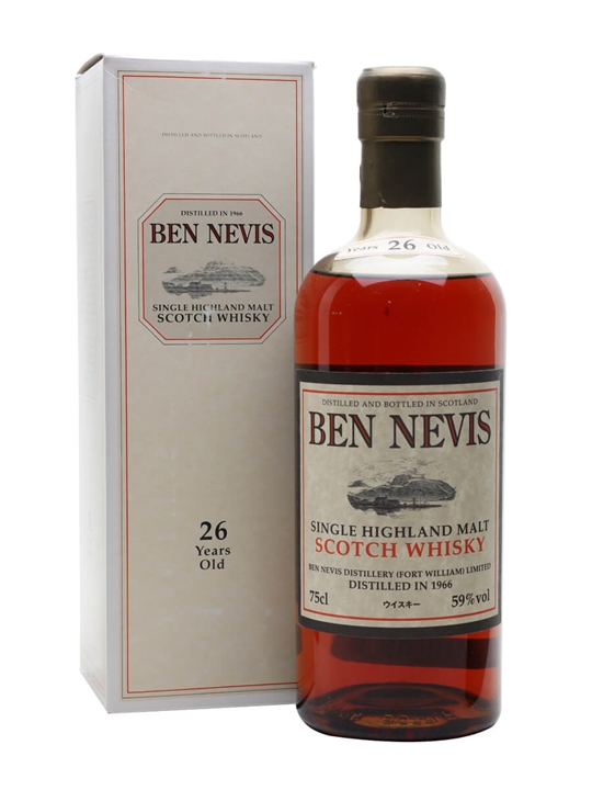 Ben Nevis 1966 / 26 Year Old Highland Single Malt Scotch Whisky