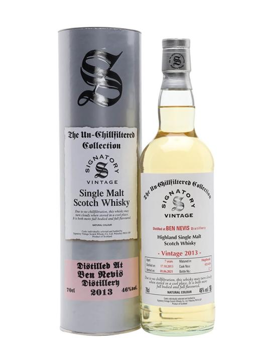 Ben Nevis 2013 / 7 Year Old / Signatory Highland Whisky
