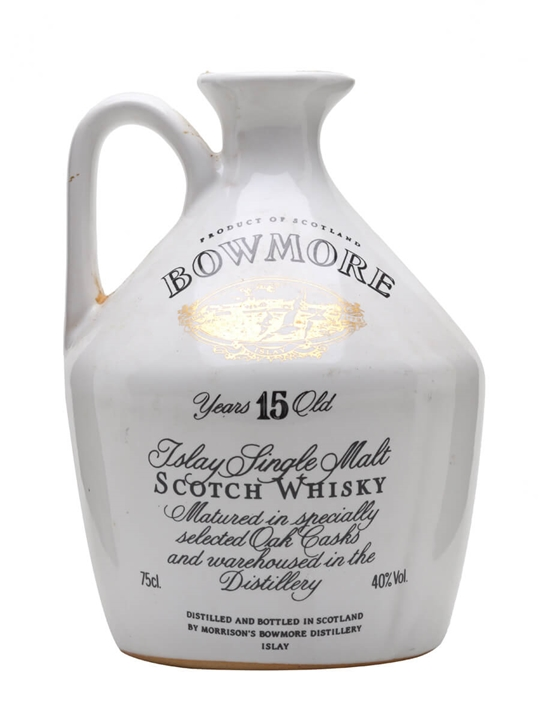 Bowmore 15 Year Old / Glasgow Garden Ceramic (1988) Islay Whisky