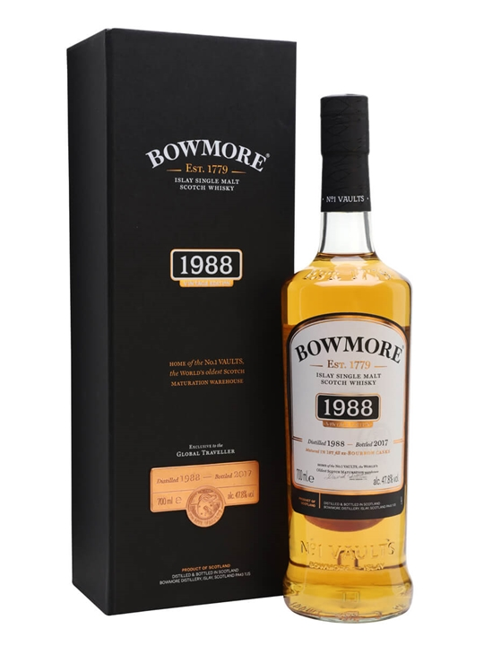 Bowmore 1988 / Bot.2017 Islay Single Malt Scotch Whisky