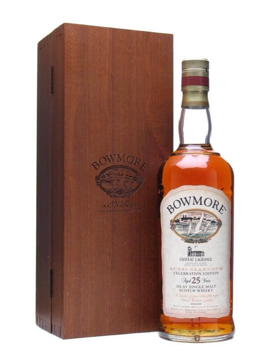 Bowmore 25 Year Old / Chateau Lagrange Islay Single Malt Scotch Whisky