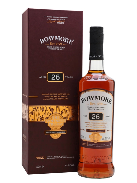 Bowmore 26 Year Old Wine Cask / Vintner's Trilogy Part 2 Islay Whisky