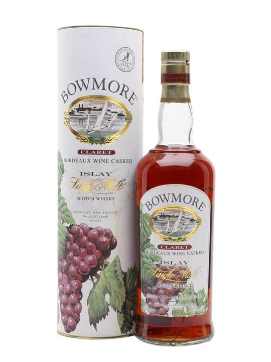 Bowmore Claret / Bordeaux Wine Cask Islay Single Malt Scotch Whisky