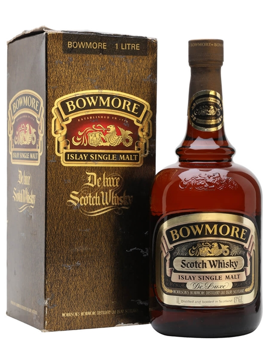 Bowmore De Luxe / Bot.1970s / Litre Islay Single Malt Scotch Whisky