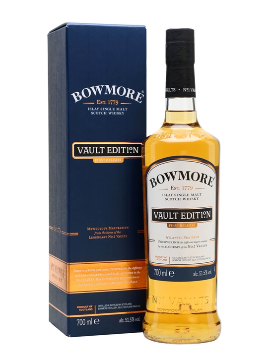 Bowmore Vault Edition First Release Atlantic Sea Salt Islay Whisky