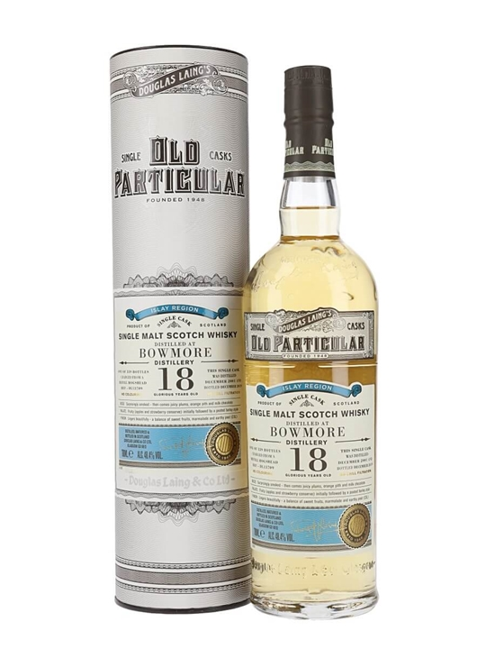 Bowmore 2001 / 18 Year Old / Old Particular Islay Whisky