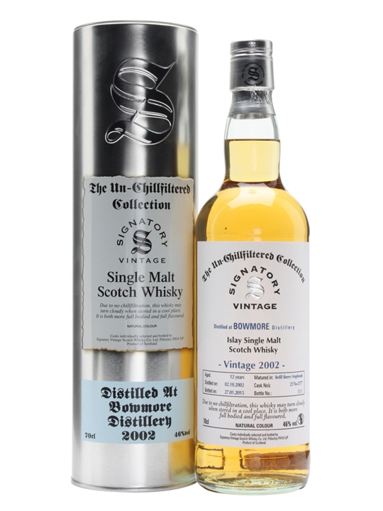 Bowmore 2002 / 12 Year Old / Cask #2176+7 / Signatory Islay Whisky