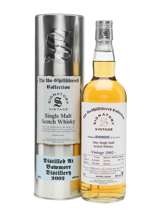 Bowmore 2002 / 13 Year Old / Signatory Islay Single Malt Scotch Whisky