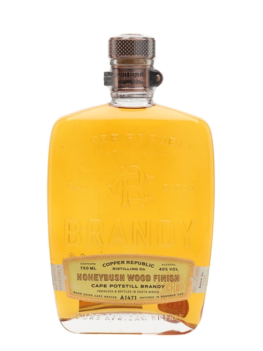 Copper Republic Distilling Co Honeybush Brandy