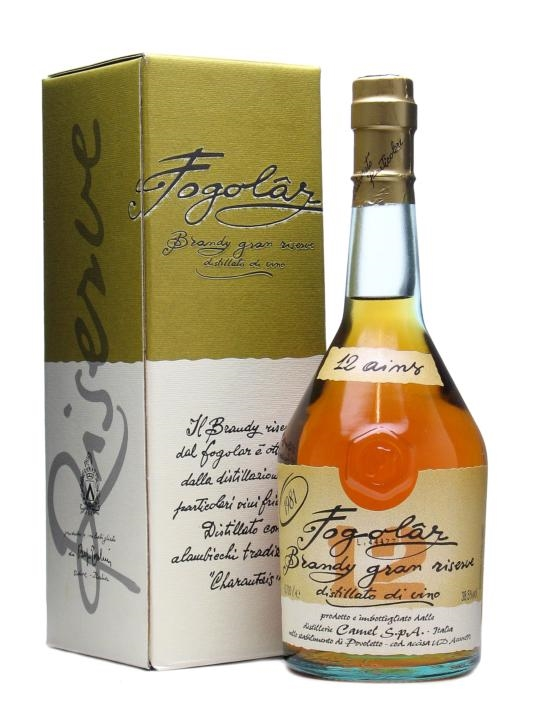 Fogolar Gran Riserva 1981 / 12 Year Old Italian Brandy