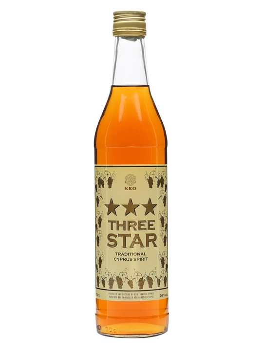 Keo 3 Star Traditional Cyprus Spirit