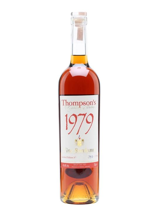 Thompson's 1979 Fine Bordeaux Brandy