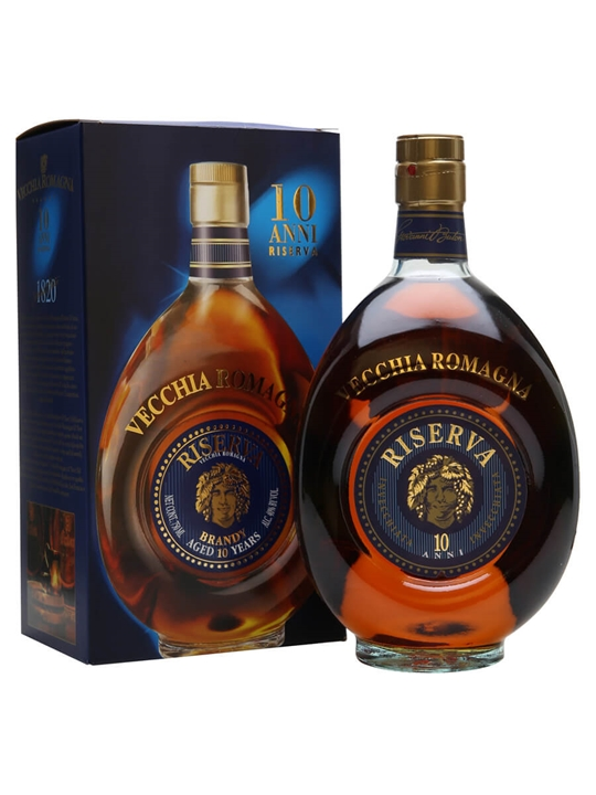 Vecchia Romagna 10 Year Old Riserva Brandy