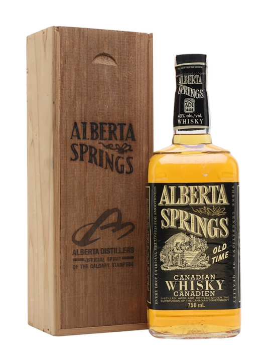 Alberta Springs Canadian Whisky / Bot.1980s Canadian Whisky