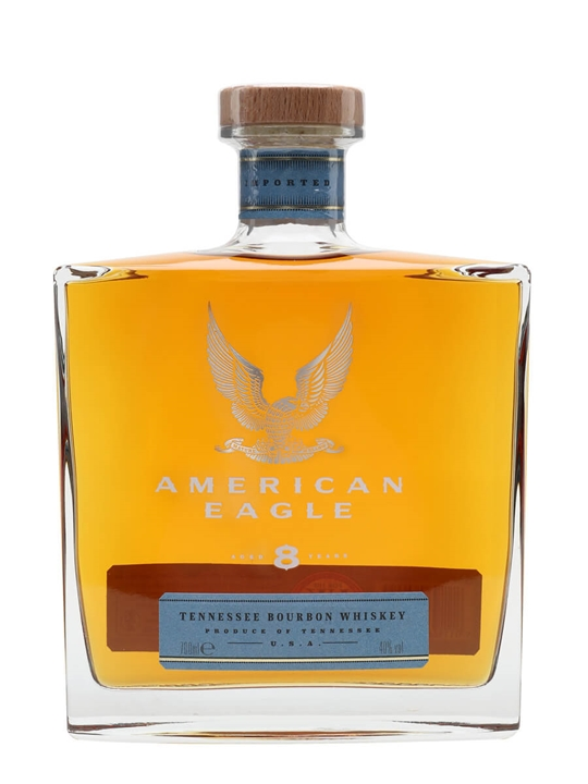 American Eagle Tennessee Boubon 8 Year Old Tennessee Bourbon Whiskey