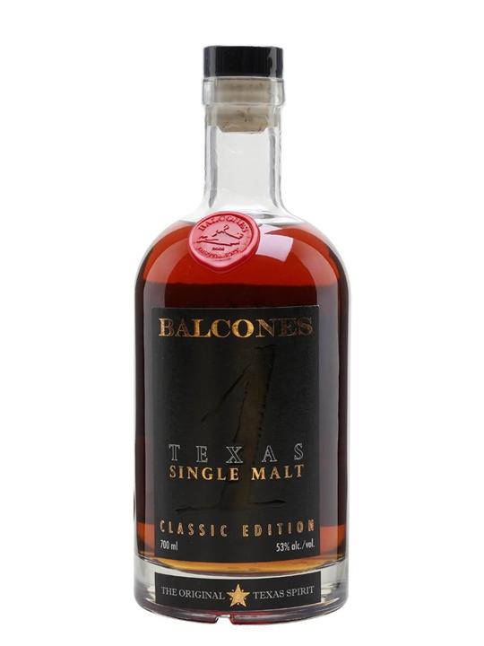 Balcones Texas Single Malt Whisky Texas Single Malt Whisky