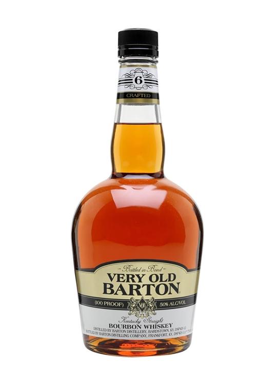 Very Old Barton 100 Proof Bourbon Kentucky Straight Bourbon Whiskey