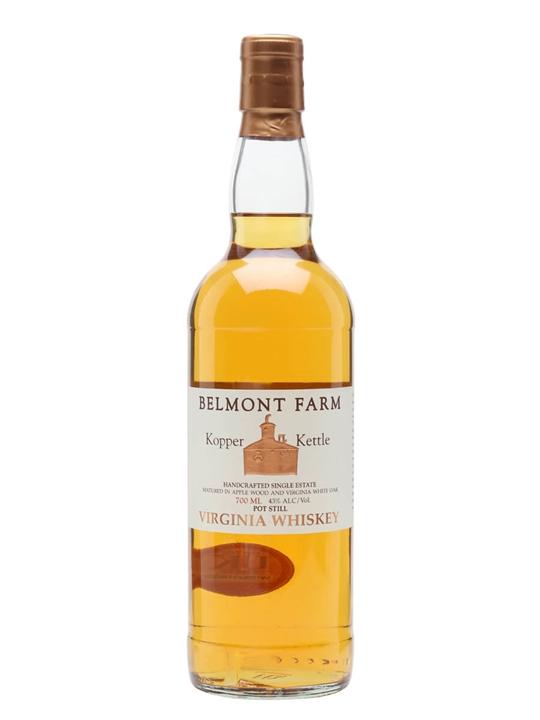 Kopper Kettle Virginia Whiskey / Belmont Farm Virginia Whiskey