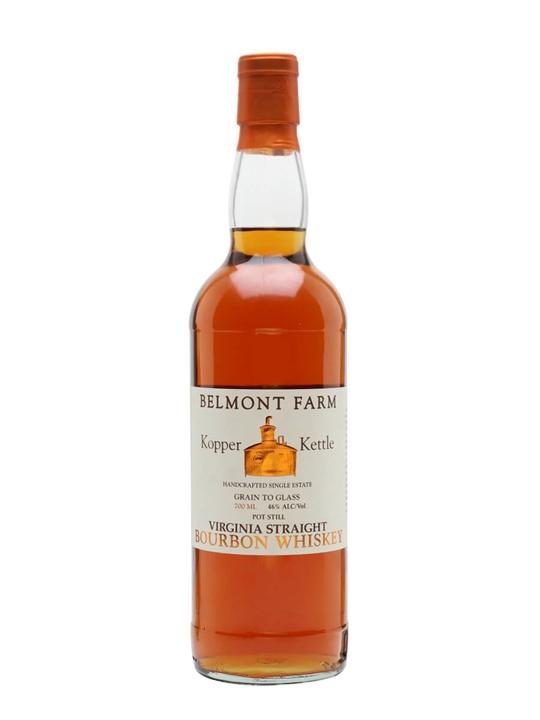 Kopper Kettle Virgina Straight Bourbon Whiskey / Belmont Farm