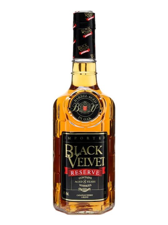 Black Velvet Reserve / 8 Year Old Canadian Whisky