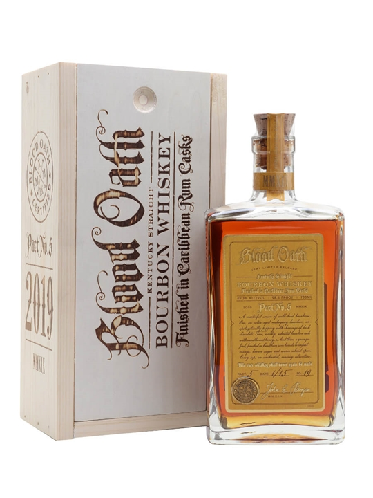 Blood Oath Bourbon Pact No.5 Kentucky Straight Bourbon Whiskey