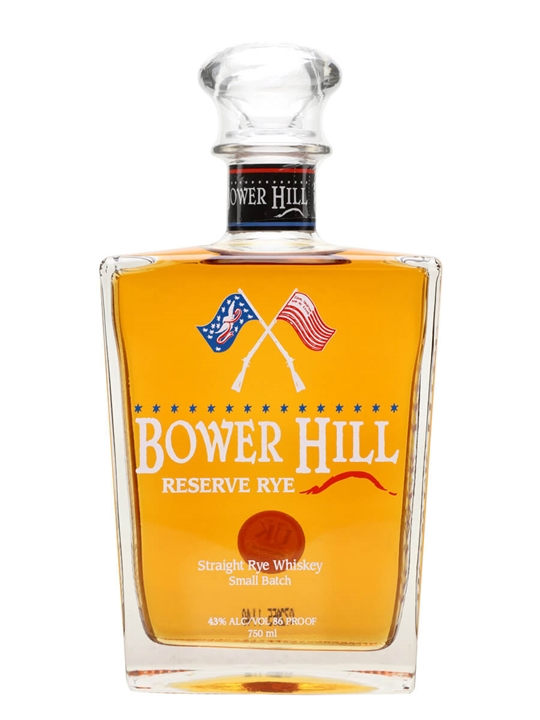 Bower Hill Reserve Rye Straight Rye Bourbon Whiskey
