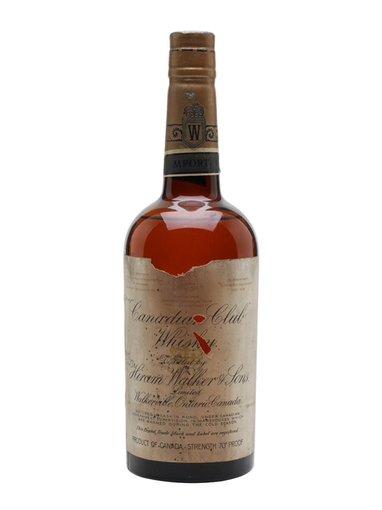 Canadian Club / Bot.1940 Canadian Whisky