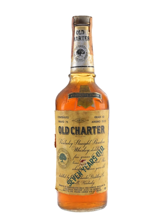 Old Charter Bourbon / 7 Year Old / Bot.1970s