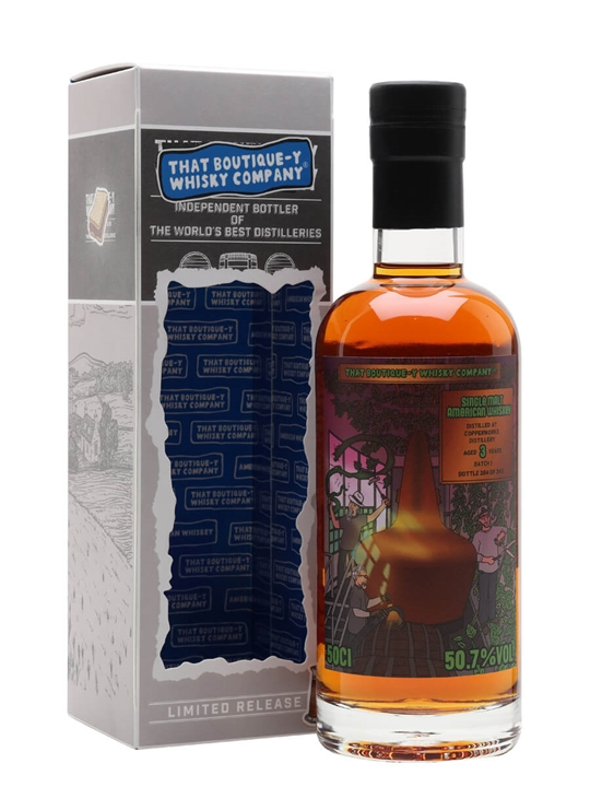 Copperworks 3 Year Old / Batch 1 / That Boutique-y Whisky Company Single Whisky