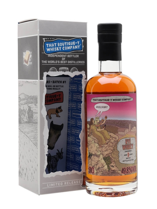 Coppersea Rye Batch 1 / 3 Year Old / Boutique-y Whsiky Company American Whisky