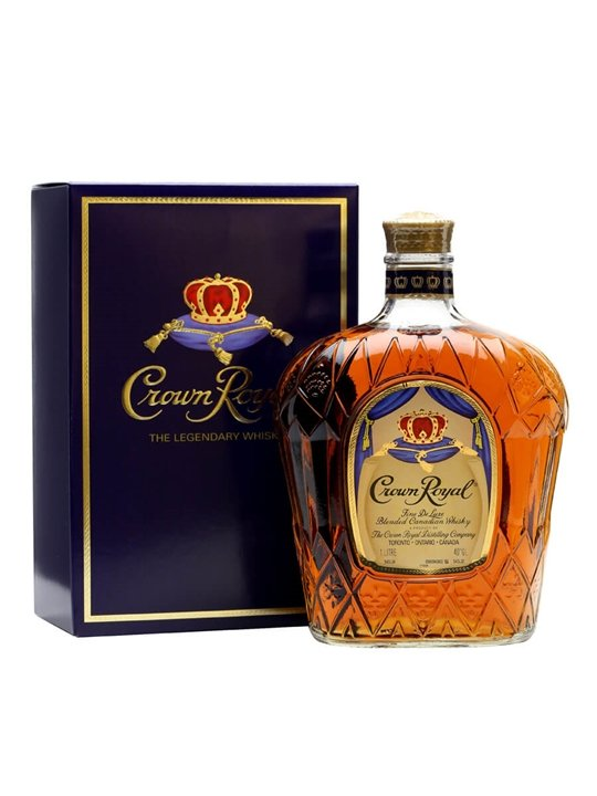 Crown Royal / Litre Canadian Whisky