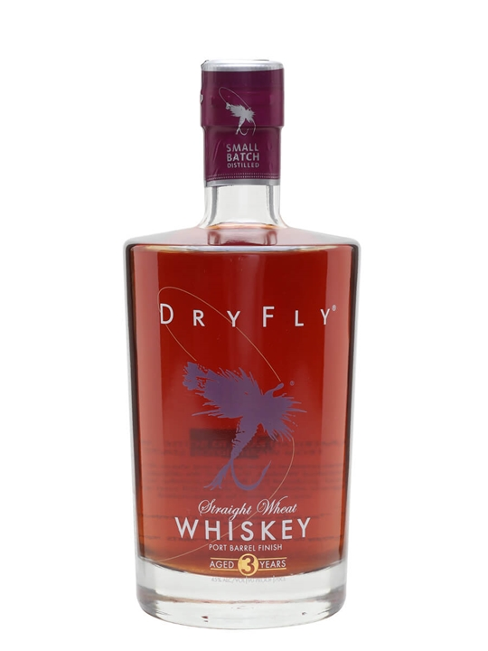 Dry Fly Wheat Whiskey / 3 Year Old / Port Finish