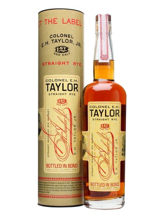 E. H. Taylor Straight Rye Whiskey Straight Rye Whiskey