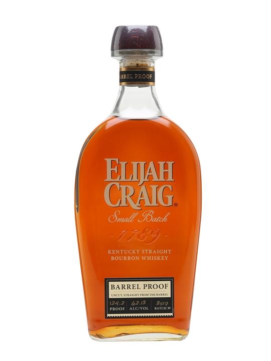 Elijah Craig Barrel Proof (62.1%) Kentucky Straight Bourbon Whiskey