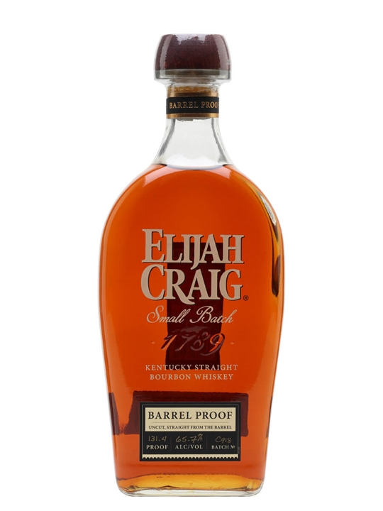 Elijah Craig Barrel Proof (65.7%) Kentucky Straight Bourbon Whiskey