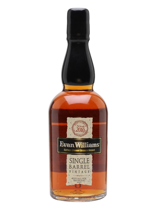 Evan Williams Single Barrel 2010 Kentucky Straight Bourbon Whiskey