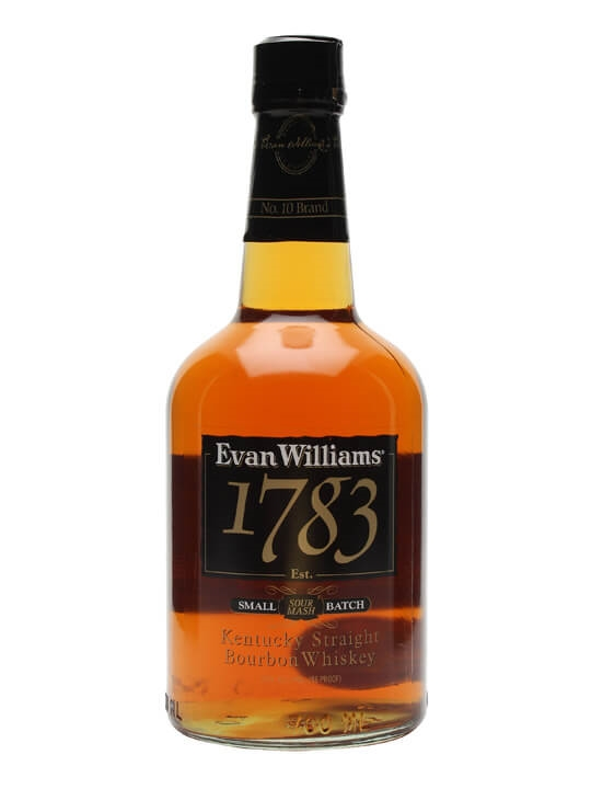 Evan Williams 1783 / No. 10 Brand Kentucky Straight Bourbon Whiskey