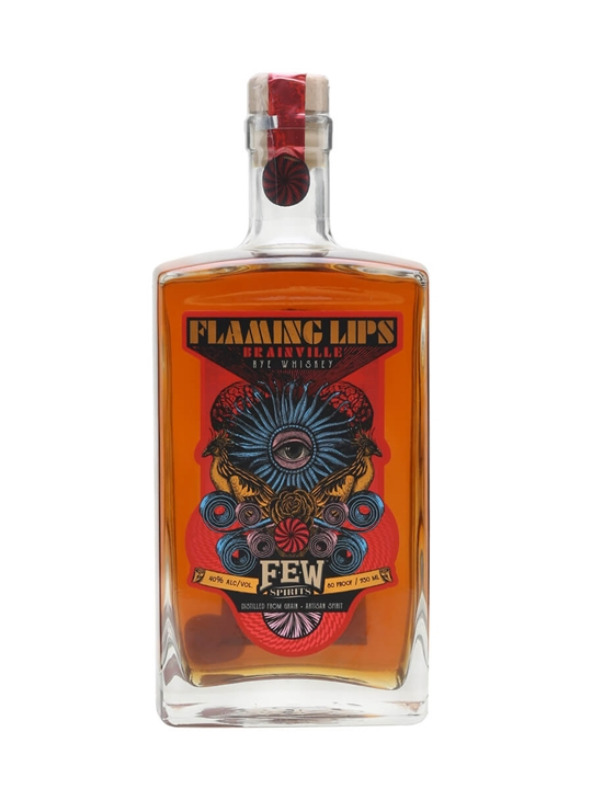 Few Flaming Lips Brainville Rye American Rye Whiskey