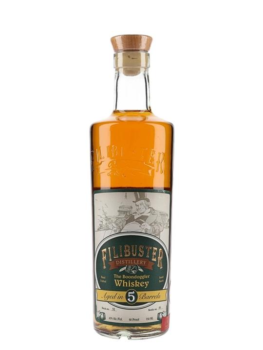 Filibuster Boondoggler Whiskey American Whiskey