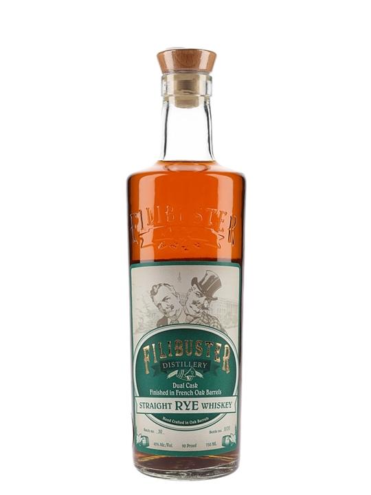 Fillibuster Rye Whiskey Straight Rye Whiskey