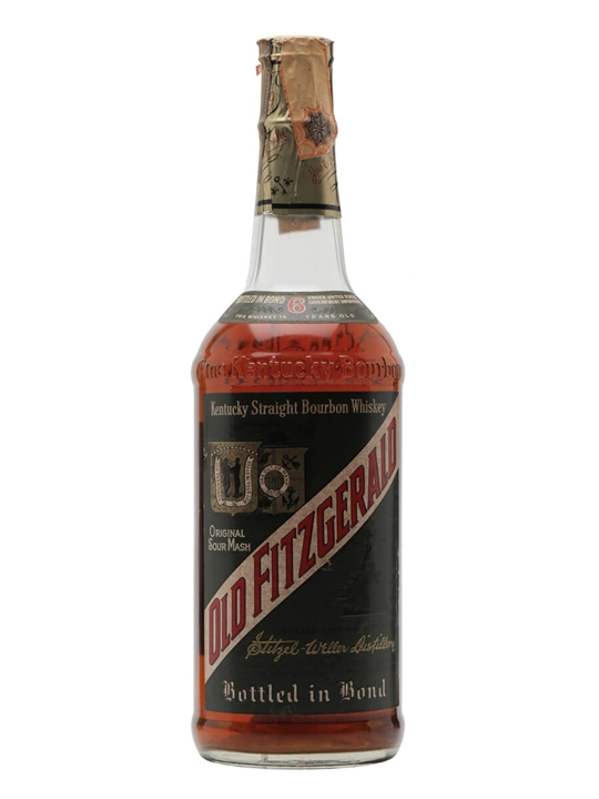 Old Fitzgerald 6 Year Old Bourbon / Bot.1970s