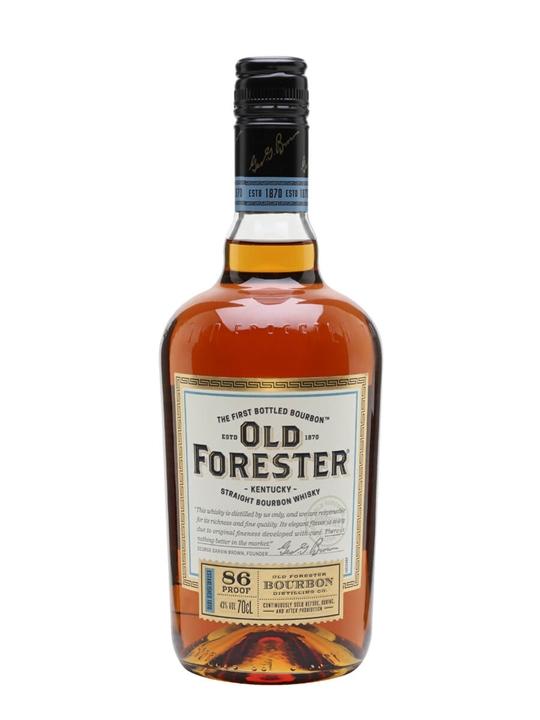 Old Forester Bourbon Kentucky Straight Bourbon Whiskey