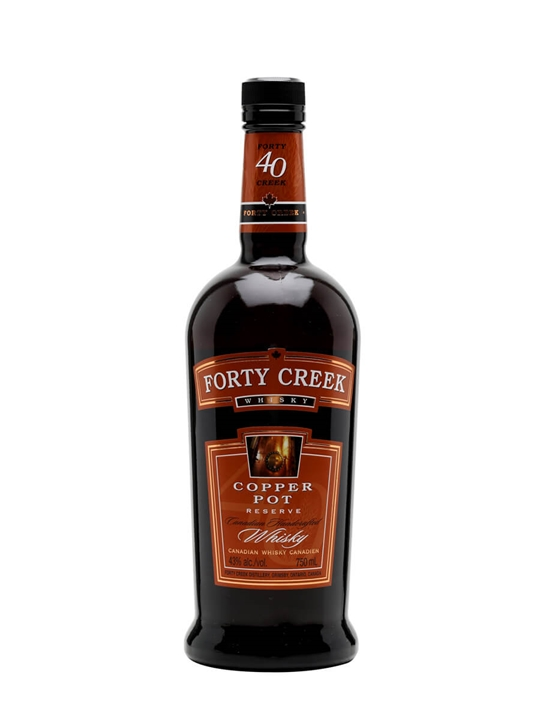 Forty Creek Copper Pot Reserve Canadian Whisky