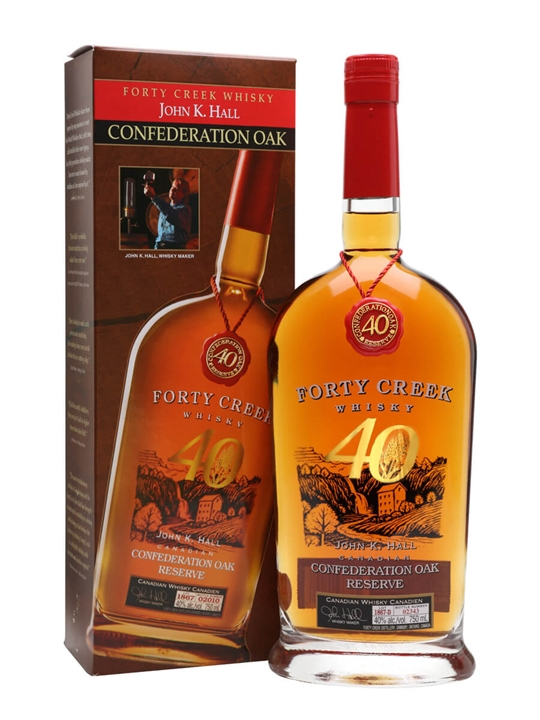 Forty Creek Confederation Oak Reserve Canadian Whisky