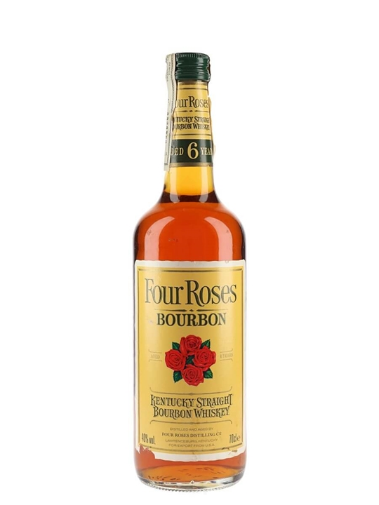 Four Roses Yellow Label / 6 Year Old / Bot.1980s