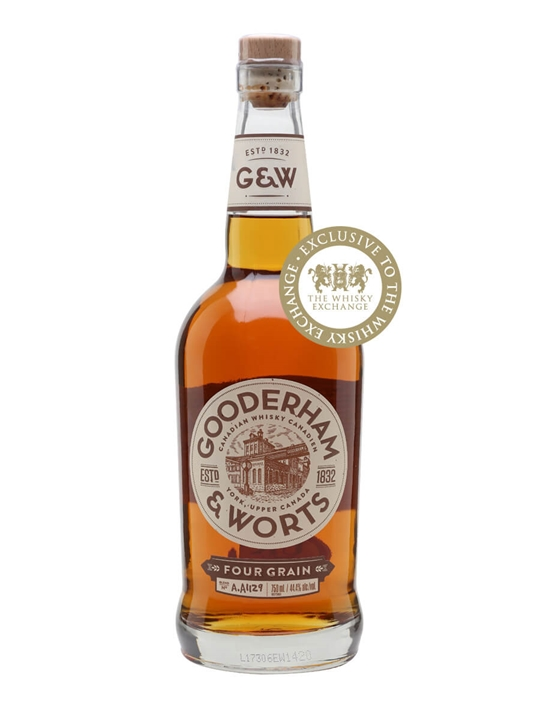 Gooderham & Worts 4 Grain Canadian Whisky