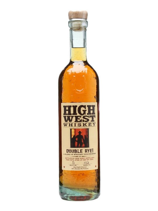 High West Double Rye Straight Rye Whiskey