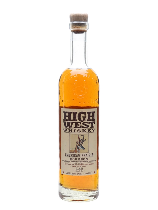 High West American Prairie Reserve Straight Bourbon