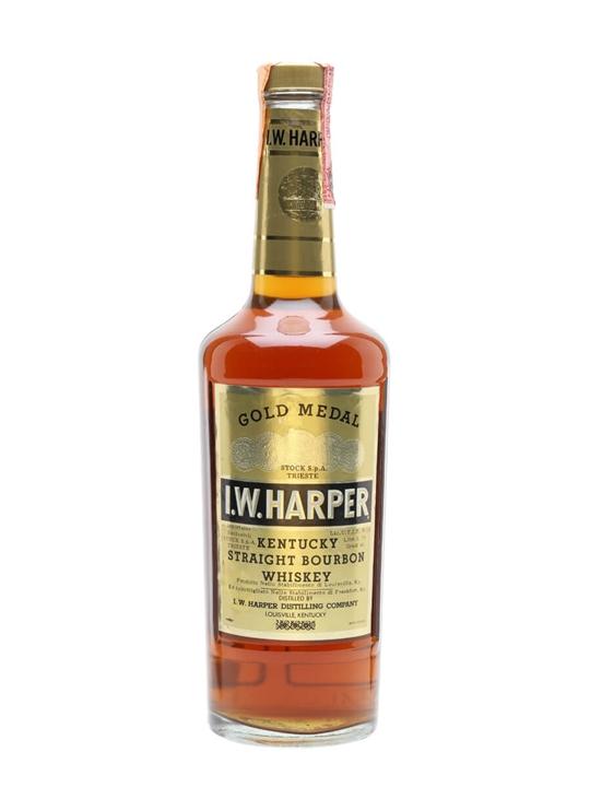 I W Harper Gold Medal / Bot.1970s Kentucky Straight Bourbon Whiskey